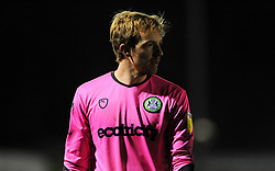Lewis Thomas of Forest Green Rovers looks on- Mandatory by-line: Nizaam Jones/JMP - 27/02/2021 - FOOTBALL - The innocent New Lawn Stadium - Nailsworth, England - Forest Green Rovers v Colchester United - Sky Bet League Two