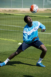 March 20, 2016 - San Pedro Del Pinatar, SPAIN - Peter Olayinka in action on the fifth day of a training camp of Belgian first division soccer club AA Gent in San Pedro Del Pinatar, Spain, Sunday 20 March 2016. For this season, play-offs starts on first April for ten more games for the best six teams. BELGA PHOTO JASPER JACOBS (Credit Image: © Jasper Jacobs/Belga via ZUMA Press)