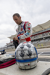 March 23, 2019 - Austin, Texas, U.S. - TONY KANAAN (14) of Brazil prepares to qualify for the INDYCAR Classic at Circuit Of The Americas in Austin, Texas. (Credit Image: © Walter G Arce Sr Asp Inc/ASP)