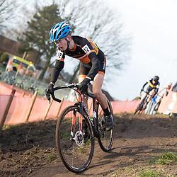 11-01-2020: Wielrennen: NK Veldrijden: Rucphen<br />Quin de Groot