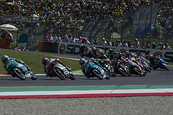 June 3, 2018 - Scarperia, Tuscany, Italy - Moments of Moto3 race as part of  Italian Motogp at Mugello Circuit, Scarperia, Italy; (Credit Image: © Gaetano Piazzolla/Pacific Press via ZUMA Wire)
