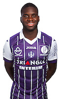 Odsonne Edouard during the photo shooting session of Toulouse FC for the new season 2016/2017 in Toulouse on September 16th 2016<br /> Photo : TFC / Icon Sport