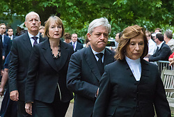 Hyde Park, London, July7th 2015. The Mayor of London Boris Johnson and other senior political figures, the Commissioners for transport and policing in the capital, as well as senior representatives of the emergency services  lay wreaths at the 7/7 memorial in Hyde Park. PICTURED: Jules Pipe, Harriet Harman, John Bercow and Baroness D'Souza