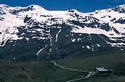 Rotmoons Valley, Otztal, Austria, mountain, landscape, snow