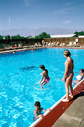 CA: Death Valley National Park, Furnace Creek Inn, swimming pool                     .Photo by Lee Foster, lee@fostertravel.com, www.fostertravel.com, (510) 549-2202.Image: cadeat217