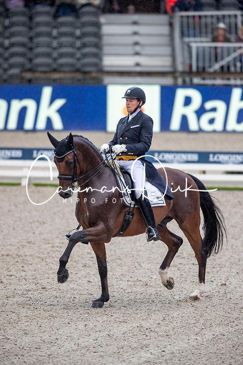 Ruoste Henri, FIN, Rossetti<br /> European Championship Dressage<br /> Rotterdam 2019<br /> © Hippo Foto - Dirk Caremans