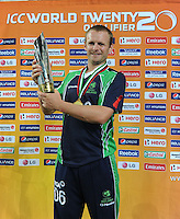 ICC World Twenty20 Qualifier UAE 2012.Ireland take on Afghanistan in the final of the tournament at the Dubai International Cricket Stadium, Dubai..Pic shows The captain of Ireland, William Porterfield.