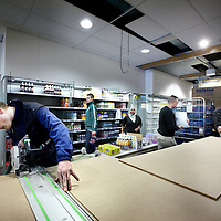 Nederland, Amsterdam , 3 maart 2011..Volgende week woensdag wordt in de Westerstraat een nieuwe Jumbo Supermarkt geopend..De laatste voorbereidingen worden getroffen..EVENTUELE BIJPLAATJE.Foto:Jean-Pierre Jans