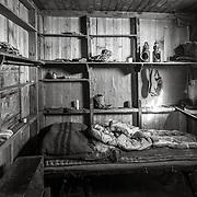 Captain R.F. Scott's sleeping area.
