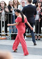 British Soap Awards, Saturday 3rd June 2017<br /> <br /> Stars arrive on the red carpet for the British Soap Awards 2017<br /> <br /> Chelsea Healey and Duncan James arrive<br /> <br /> (c) Alex Todd | Edinburgh Elite media