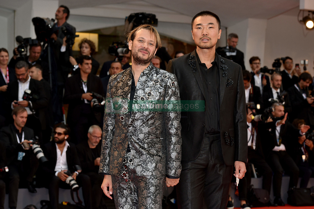 Premiere of the film 'Suspiria' during the 75th Venice Film Festival. 01 Sep 2018 Pictured: Angelo Cruciani,Shi Yang Shi. Photo credit: M. Angeles Salvador/MEGA TheMegaAgency.com +1 888 505 6342