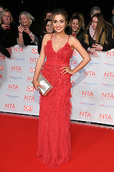 Tilly Keeper attending the National Television Awards 2018 held at the O2, London. Photo credit should read: Doug Peters/EMPICS Entertainment