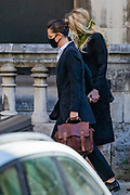 Amber Heard, the ex-wife of Johnny Depp arrives at the High Court in London, on Friday, July 10, 2020 - where the US actor Depp and his ex-wife Heard has been giving evidence during a hearing over the last week in his libel case against the publishers of The Sun and its executive editor, Dan Wootton. (VXP Photo/ Vudi Xhymshiti)