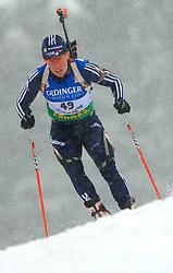 Lanny Barnes (USA) at Women 15 km Individual at E.ON Ruhrgas IBU World Cup Biathlon in Hochfilzen (replacement Pokljuka), on December 18, 2008, in Hochfilzen, Austria. (Photo by Vid Ponikvar / Sportida)