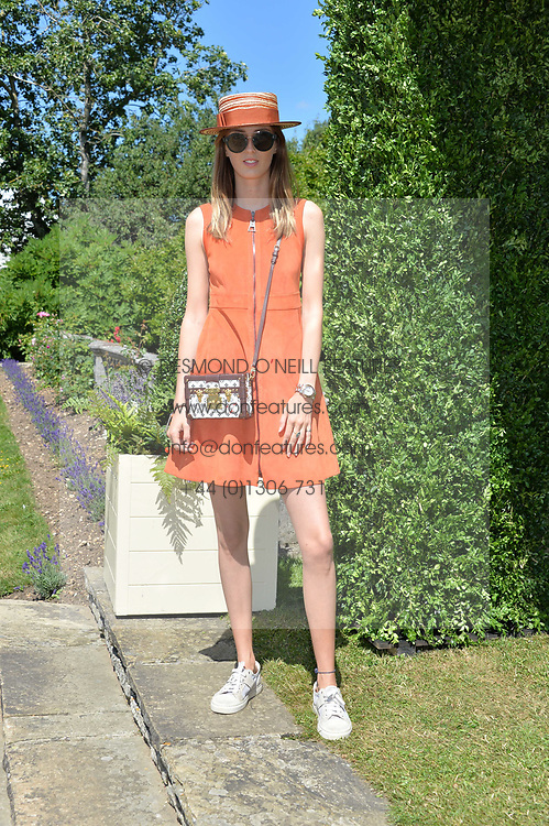 Alice Manners at the Cartier Style et Luxe at the Goodwood Festival of Speed, Goodwood, West Sussex, England. 2 July 2017.<br /> Photo by Dominic O'Neill/SilverHub 0203 174 1069 sales@silverhubmedia.com