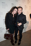 SUZANNE TROCME; TONY CHAMBERS, Wallpaper* Design Awards. Wilkinson Gallery, 50-58 Vyner Street, London E2, 14 January 2010 *** Local Caption *** -DO NOT ARCHIVE-© Copyright Photograph by Dafydd Jones. 248 Clapham Rd. London SW9 0PZ. Tel 0207 820 0771. www.dafjones.com.<br /> SUZANNE TROCME; TONY CHAMBERS, Wallpaper* Design Awards. Wilkinson Gallery, 50-58 Vyner Street, London E2, 14 January 2010