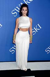 Kim Kardashian at the 2018 CFDA Fashion Awards at the Brooklyn Museum in Brooklyn, New York.