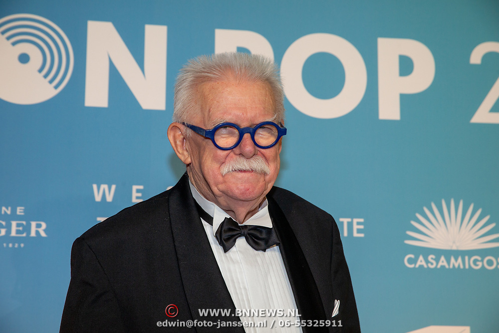 NLD/Amsterdam/20200211 - Uitreiking Edison Pop 2020, vader van Rene Karst