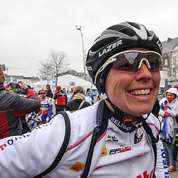 Sportfoto archief 2013<br /> Omloop Het Nieuwsblad vrouwen<br /> Marijn de Vries