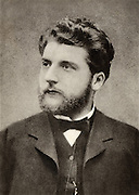 Georges (Alexandre Cesar Leopold) Bizet (1838-1875) French composer. After a photograph.