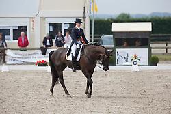 Borrey De Coninck Eline (BEL) - Don Warohn Edc<br /> BK Young Riders<br /> Flanders Dressage Event Hulsterlo 2012<br /> © Dirk Caremans