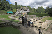 Chedworth Roman villa, near Cirencester, Gloucestershire, England