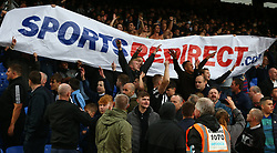 September 22, 2018 - London, England, United Kingdom - Newcastle United Fans with Banner.during Premier League between Crystal Palace and Newcastle United  at Selhurst Park Stadium , London , England on 22 Sept 2018. (Credit Image: © Action Foto Sport/NurPhoto/ZUMA Press)