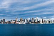 Vancouver skyline, British Columbia, Canada.