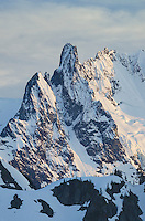 Nooksack Tower 8,285 feet (2,525 m), part of Mount Shuksan, North Cascades National Park Washington