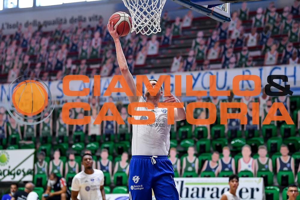 Eimantas Bendzius<br /> Allenamento Banco di Sardegna Dinamo Sassari<br /> LBA Legabasket Serie A 2021-2022<br /> Sassari, 12/08/2021<br /> Foto L.Canu / Ciamillo-Castoria