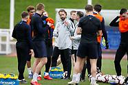 England 19-03-2019. Training Session 190319