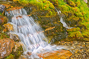 Creek and small waterfall along the Bow Valley Trail<br />