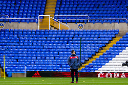 Bristol City head coach Lee Johnson arrives at St Andrew's Stadium- Mandatory by-line: Robbie Stephenson/JMP - 08/12/2018 - FOOTBALL - St Andrew's Stadium - Birmingham, England - Birmingham City v Bristol City - Sky Bet Championship