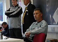 Photo: Tony Oudot.<br /> Watford v Newcastle United. The Barclays Premiership. 13/05/2007.<br /> Newcastle caretaker manager Nigel Pearson gives a press conference after the game