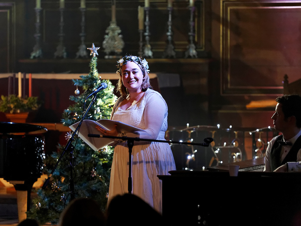 Snow Goose Song, Performed by Aoife Nally, written by Ben Heneghan. Xmas Factor by Iris Theatre at St Pauls Covent Garden, London on 6th December 2013.