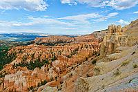 Inspiration Point,Bryce Canyon National Park Elevation 8100, Utah, USA.
