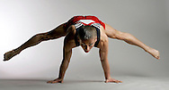 Gymnast Alexander Artemev poses for a portrait at the 2008 U.S. Olympic Team Media Summit on April 16, 2008. (UPI)