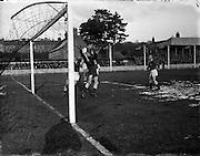 13/2/1955<br /> 2/13/1955<br /> 13 February 1955<br /> Soccer: St. Patrick Athletic v Cork at Chapelizod, Dublin.
