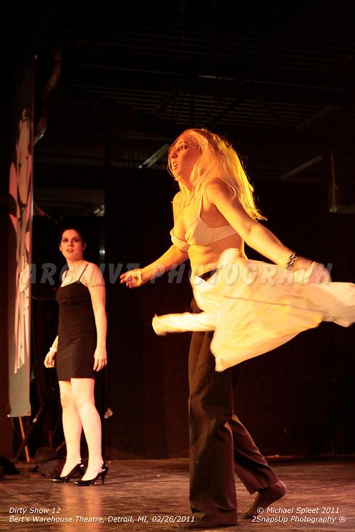 DETROIT, MI, SUNDAY, FEB. 27, 2011: Dirty Show 12, Crystal Swarovski at Bert's Warehouse Theatre, Detroit, MI, 02/27/2011.  (Image Credit: Michael Spleet / 2SnapsUp Photography)