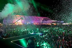 Público no show do Luan Santana no palco principal do Planeta Atlântida 2013/RS, que acontece nos dias 15 e 16 de fevereiro na SABA, em Atlântida. FOTO: Jefferson Bernardes/Preview.com