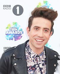 Nick Grimshaw, BBC Radio 1 Teen Awards, Wembley Arena, London UK, 03 November 2013, Photo by Richard Goldschmidt © Licensed to London News Pictures. Photo credit : Richard Goldschmidt/Piqtured/LNP