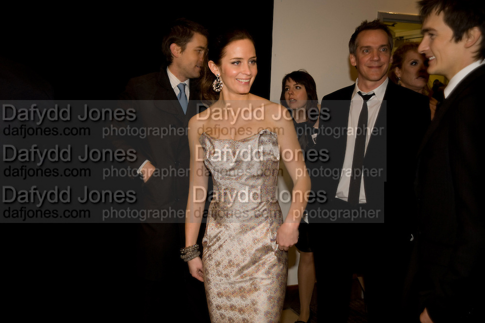 EMILY BLUNT; JEAN-MARC VALLEE; , The World Premiere of Young Victoria in aid of Children in Crisis and St. John Ambulance. Odeon Leicesgter Sq. and afterwards at Kensington Palace. 3 March 2009 *** Local Caption *** -DO NOT ARCHIVE -Copyright Photograph by Dafydd Jones. 248 Clapham Rd. London SW9 0PZ. Tel 0207 820 0771. www.dafjones.com<br /> EMILY BLUNT; JEAN-MARC VALLEE; , The World Premiere of Young Victoria in aid of Children in Crisis and St. John Ambulance. Odeon Leicesgter Sq. and afterwards at Kensington Palace. 3 March 2009