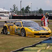 #66 Ferrari 458 Italia, JMW Motorsport, drivers: Al-Faisal, Al-Qubaisi,  Bertolini,  GTE PRO, Le Mans 24H 2013