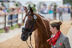Gerber Caroline, SUI, Tresor de Chignan CH<br /> European Championship Eventing<br /> Luhmuhlen 2019<br /> © Hippo Foto - Stefan Lafrentz