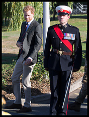 Prince Harry visits The Royal Marines - 13 Set 2018