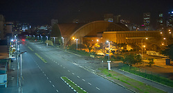 South Africa - Cape Town - 14 July 2020 - Sir Lowry road and Good Hope Centre, Cape Town city. President Cyril Ramaphosa announced a curfew from 9pm until 4am for South Africans under Lockdown level 3. Essential services vehicles can still be seen on some roads. Picture Courtney Arica/African News Agency(ANA)