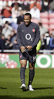 Photo: Andrew Unwin.<br /> Sunderland v Arsenal. The Barclays Premiership. 01/05/2006.<br /> Arsenal's Thierry Henry.