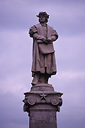 Christopher Columbus statue outside parliament house - Buenos Aires, Argentina <br /> <br /> Editions:- Open Edition Print / Stock Image