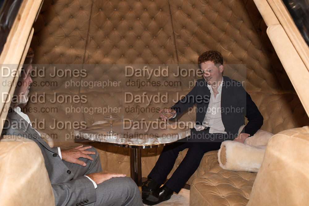 GRAHAM PAINTER; MIKE BARCROFT, Timothy Oulton Flagship Gallery Grand Opening, Timothy Oulton Bluebird, 350 King's Rd. Chelsea, London.  19 September 2018