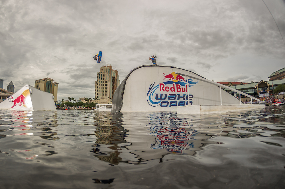 Adam Erington Competes at Red Bull Wake Open in Tampa Bay, Florida on July 5th 2013.